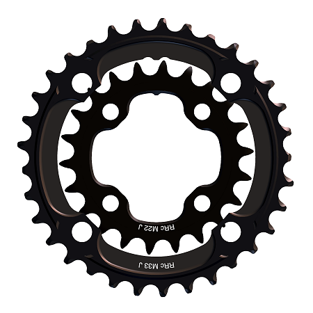 128a0880af9 Mountain Double Chainrings for Bikes with a Triple 3x9/10 Crank