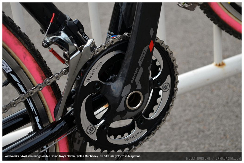 CX Mag photo of Mo's SRAM Red 22