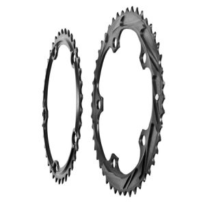 CX Chainring 46/38 - Side