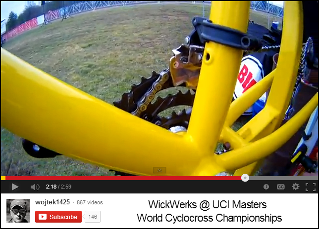 Wojtek Video - WickWerks at CX Worlds, 2013