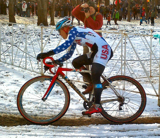 Compton on WickWerks at CX Worlds 2013