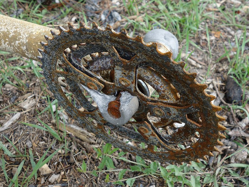 Crank remains from the Black Forest fire