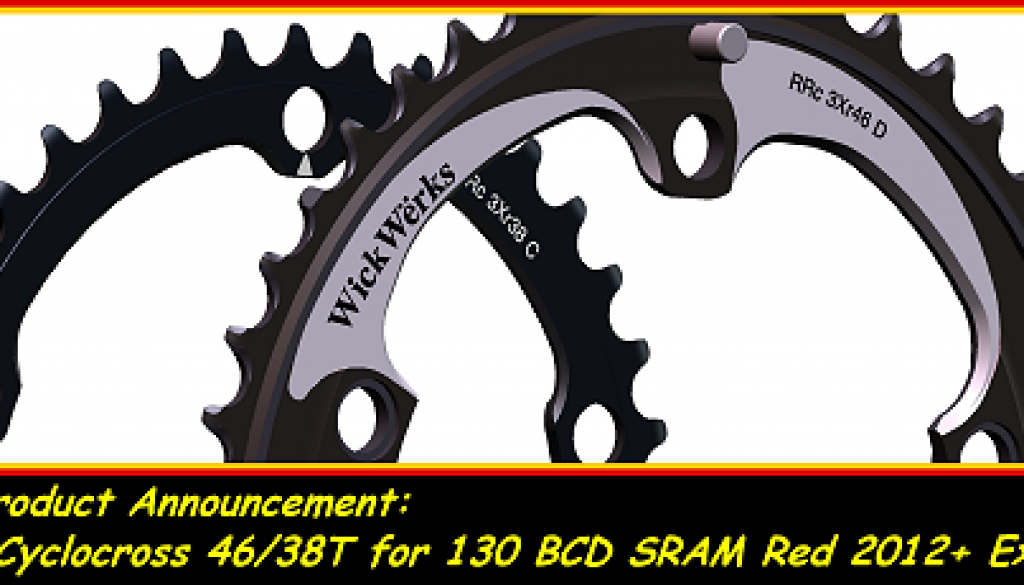 Cyclocross Chainrings for Exogram 46t
