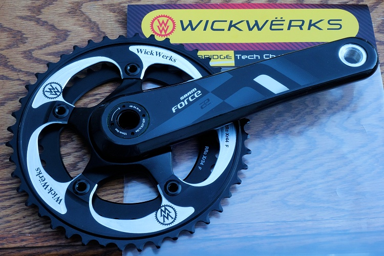 WickWerks on the SRAM Force 22