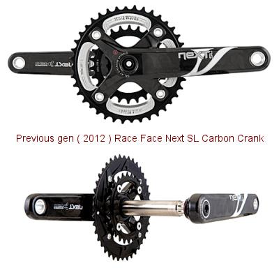 2012 Race Face Next SL Carbon Crank