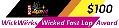 WickWerks Wicked Fast Lap Award 2014 for $100