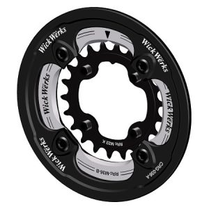 Bash Guard with 36/22 Chainrings
