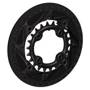 Chainring Guard with 36/22 - Back