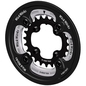 Bash Guard with 38/24 Chainrings