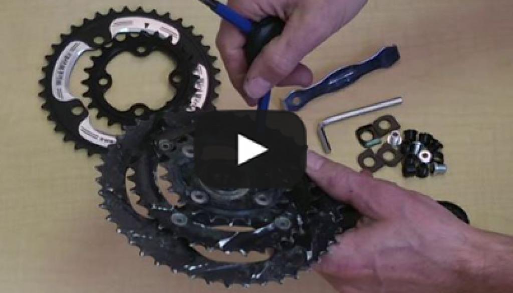 3x to 2x Mountain Bike Conversion - Video