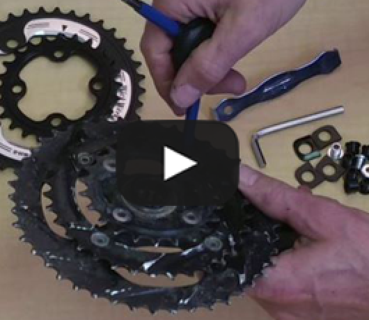 3x to 2x Mountain Bike Conversion - Video