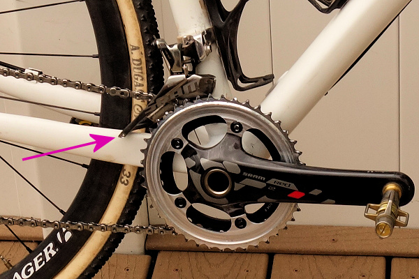 Compton Front Derailleur Interference