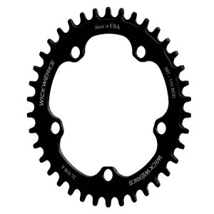 Cyclocross 1X, 38t Z-Rings - ISO View