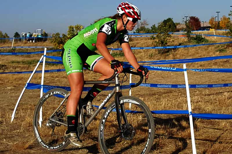 Ashley-Zoerner of Team Alpha Bicycle