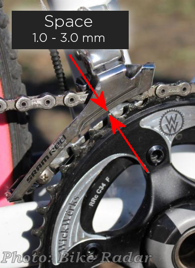 Adjusting the Front Derailleur for WickWerks Chainrings